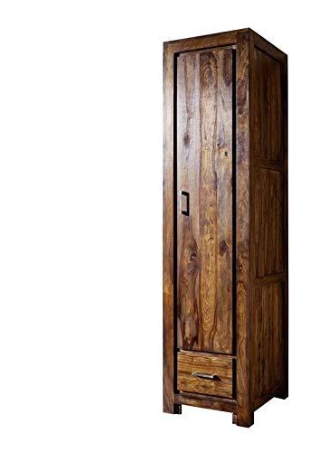 MASSIVMOEBEL24.DE Sheesham Möbel Holz massiv Garderobe Palisander Life Honey Massivmöbel Metro Life #118