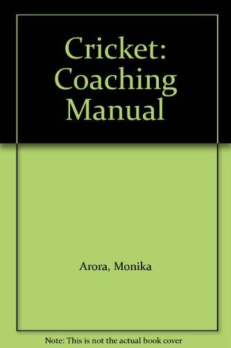 Cricket: Coaching Manual por Monika Arora