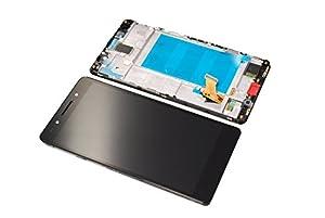 Huawei Honor 7 LCD Touch Screen Display Front Glas Rahmen Original Neu black/schwarz