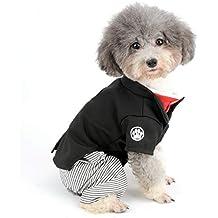 SELMAI - Kimono para Mascota, Disfraz Formal para Chica y niño, Traje de Perro