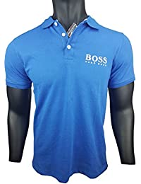 HUGO BOSS Orange Poloshirt Pique / Royal Blue / Blau / Gr. L / Modell RD0025