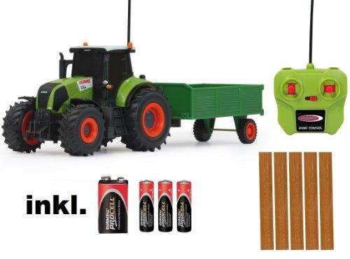 RC ferngesteuerter Traktor Claas Axion 850 mit Anhänger 1:28 - RTR - inkl. Batterien*