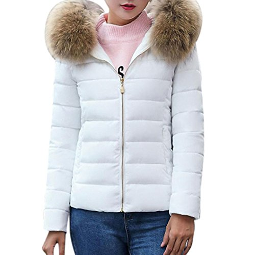 c7a296ae639a99 Elecenty Damen Warm Mantel Wintermantel Kurz Winterjacke Dickere mit Kapuze  Slim Fit Outwear.