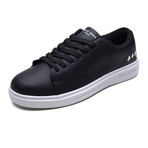 Dalliy - Cordones de zapatos de Lona chica blanco b Boxfresh Stern SM WXD Cnvs/SDE BLK/BLK Zapatilla Baja Hombre  30 EU  Negro (Negro (Noir 02)) fF6u4NWCX