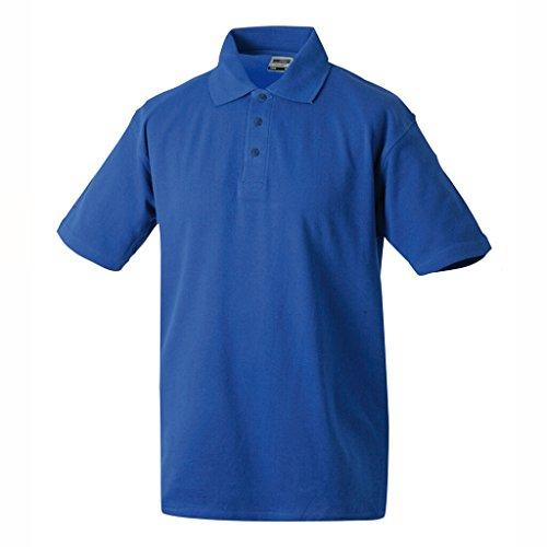 JAMES & NICHOLSON Klassisches Polohemd für Freizeit und Sport Royal