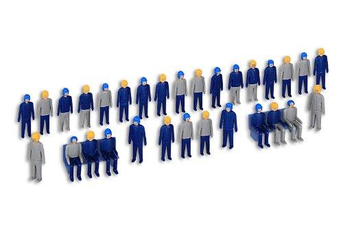 Kibri 38112 - Figuren-Bausatz Männer und Arbeiter