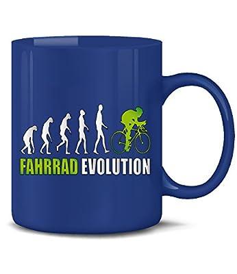 RADSPORT - FAHRRAD EVOLUTION KaffeeBecher - Teetasse - Golebros - Keramik Becher in div.Farben - Golebros