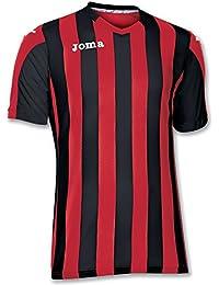 Amazon.es: camiseta rayas rojas y negras JOMA Hombre: Ropa