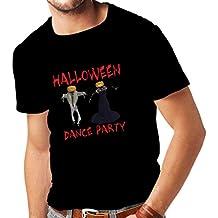 lepni.me Camisetas Hombre Disfraces Fiesta de Danza de Halloween Eventos Traje