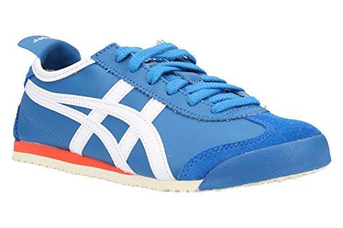 Asics Unisex-Erwachsene Mexico 66 Sneaker, Blau (Classic Blue/White 4201), 44 EU (Tiger Classic)