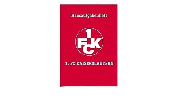 FCK Aufgabenheft 1 Schulheft 1 Hausaufgabenheft FC Kaiserslautern