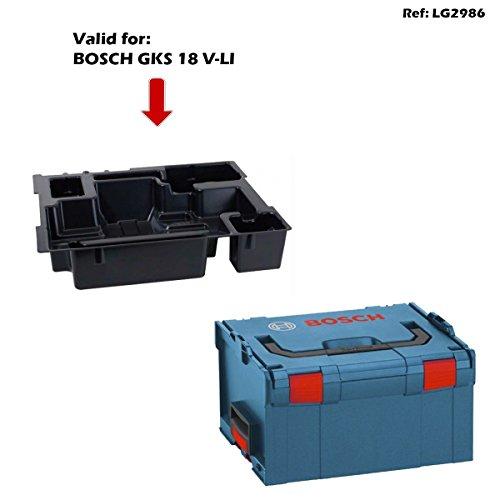 BOSCH L-Boxx 238 + Einlage GKS 18 V-LI