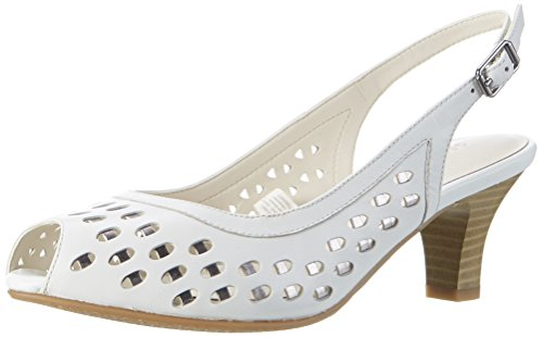 Gerry Weber Shoes Damen Kitty 04 Pumps, Weiß (Weiss), 38 EU (Damen Kitty)