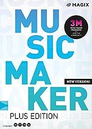Music Maker – 2020 Plus Edition – Beats produzieren, aufnehmen und mixen | Plus | PC | PC Aktivierungscode per