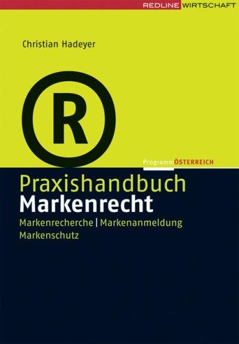 Praxishandbuch Markenrecht