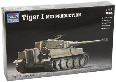 Trumpeter 07243 Modellbausatz Tiger 1 Tank (Mid.) von Faller