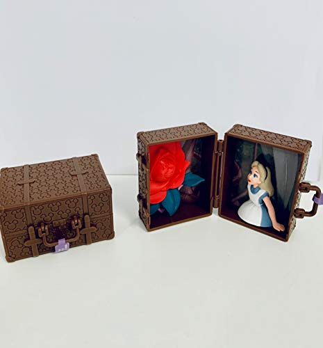 TAKARA TOMY OFFICIAL Alice im Wunderland Minifigure Baule 5 cm 1 Stück GASHAPON Disney
