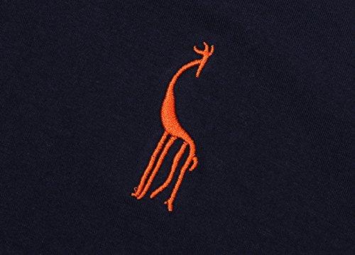 Glestore Herren Poloshirt Einfarbig M - XXL Navy