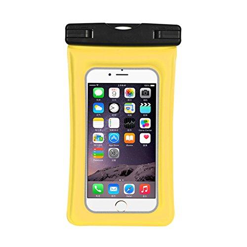 Handy-wasserdichte Tasche, aufblasbarer wasserdichter PVC-Kasten, passend für Apple IPhone 8/7/6s / 6/5/5s / SE / 5c, Rand Samsung-Galaxie S5 / S6 / S6 / S7, Huawei 6 Zoll-intelligentes Telefon (5s Samsung-galaxie-telefon-kästen)