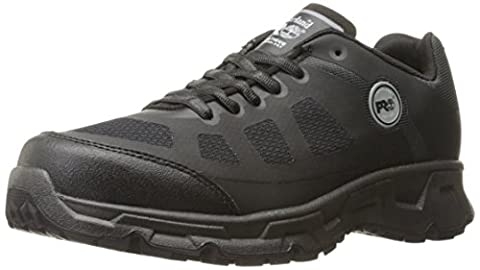 Timberland PRO Men's Velocity Soft Toe EH Industrial and Construction Shoe, Black Synthetic, 7.5 M US