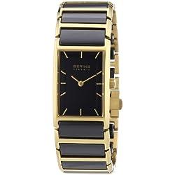 Bering Time Damen-Armbanduhr Ceramic Analog verschiedene Materialien 30121-741
