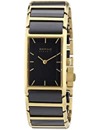 Bering Time Damen-Armbanduhr Ceramic Analog verschiedene Materialien 30121-741