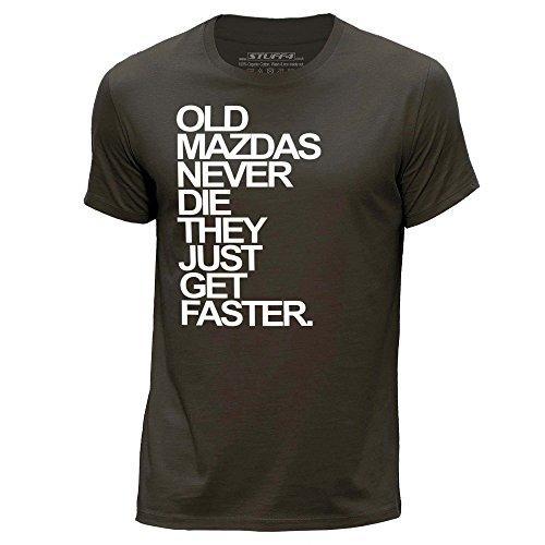 stuff4-herren-x-gross-xl-dunkelbraun-rundhals-t-shirt-old-mazdas-mazda-never-die