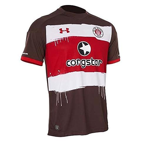Under Armour Trikot FC St. Pauli Home 2017/2018 Herren timber-red (1295576-241), M, braun