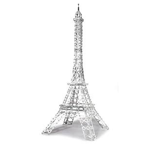Eitech C33 - Juego de construcción de Metal, diseño de Torre Eiffel