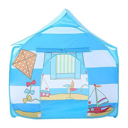 Handgefertigte Einzel - (Maybesky Handgefertigtes Miniatur-Set für Kinder, Camping, Spielhaus, Einzel- und Außenbereich, Spielzelt für drinnen und draußen)