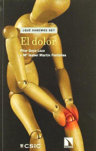 Dolor,El (¿Qué sabemos de?) por Pilar Goya Laza