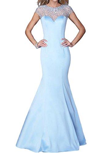 Promgirl House - Robe - Crayon - Femme bleu clair