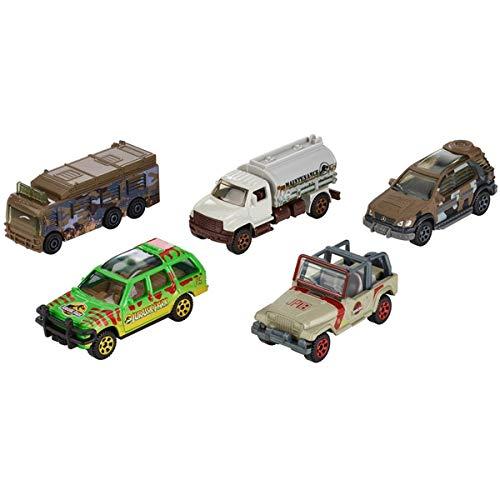 Jurassic World Matchbox Park Legacy Collection 5 DIECAST-Fahrzeug-Set 1:64 Scale Explorer Parka