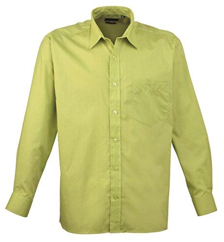 Premier - Camicia in Popeline Manica Lunga - Uomo Blue