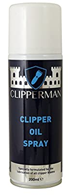 Clipperman Unisex's CLP0065 Clipper Oil Spray, Clear, Regular from Clipperman