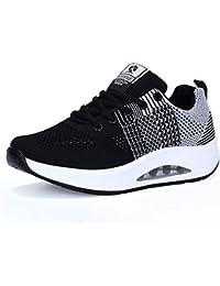 Zapatilla de Deporte Mujer Zapatos para Mujer Cuña Cómodos Mocasines Plataforma Zapatillas Sneaker Calzado Deportivo de