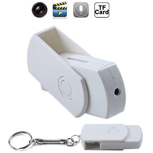 TechCode ®Mini Spion Kamera Cam USB Port Festplatte HD Motion Detector Video Recorder versteckt Stift -