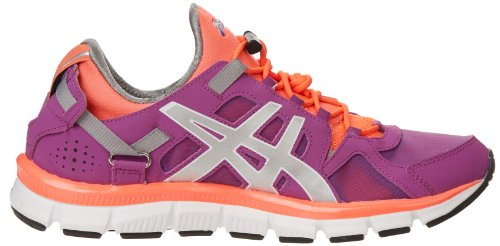 Asics Gel-Synthesis Synthétique Chaussure de Course Orchid-Lightning-Electric Melon