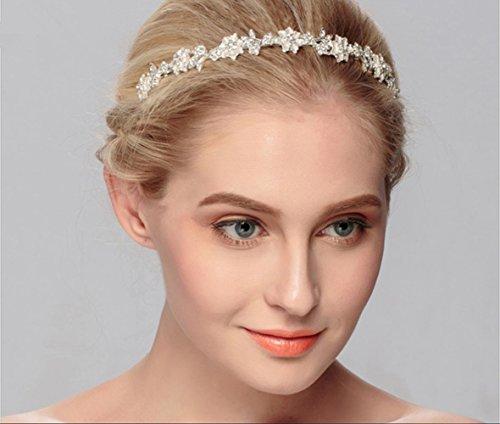 Queen Bride Boda Accesorios Novia Tocado Dispensador De Placas Manual Corona Venda AleacióN Cintas Para El Pelo