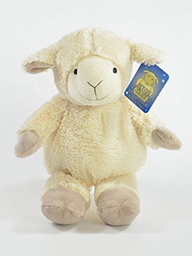 BUSDUGA - Traubenkernkissen mit Lavendel Duft , Wärmekissen als Plüschtier - wählen Sie ihr Tier (Schaf) (Lavendel Tier)