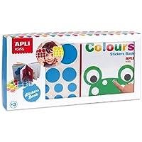 APLI Kids - Mi primer libro con gomets, Colores