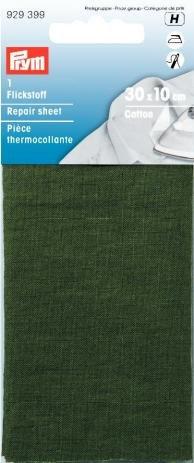 PRYM 12x 45cm Baumwolle Reparatur Tabelle, khaki