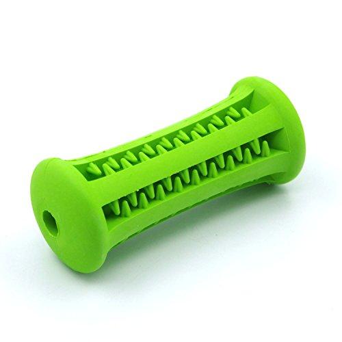 ThinkPet Kauspielzeug aus Gummi Zahnpflege Hunde, Grün Stift 8.9cm