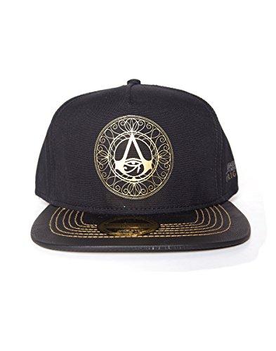 Preisvergleich Produktbild Assassin's Creed Cap Gold Crest Adjustable Black
