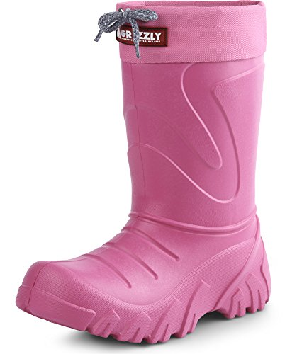 Lemigo Children´s EVA Extra Light Wellington Boots Rainy Wellies Rain Boots Grizzly 835