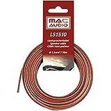 Mac Audio 16515101,5mm² 10m câble haut-parleur Transparent