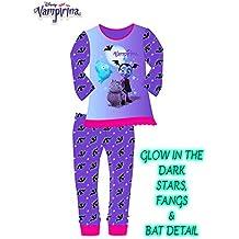 Angel ZYJ Vampirina Disfraces Infantil Niña Princesa Trajes de Halloween  Cosplay Vestidos de Carnaval con Diadema ... 67196c793c8f