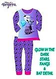 Vampirina Pijama Entero Niña Pijamas Niñas Ropa Noche Halloween (7-8)