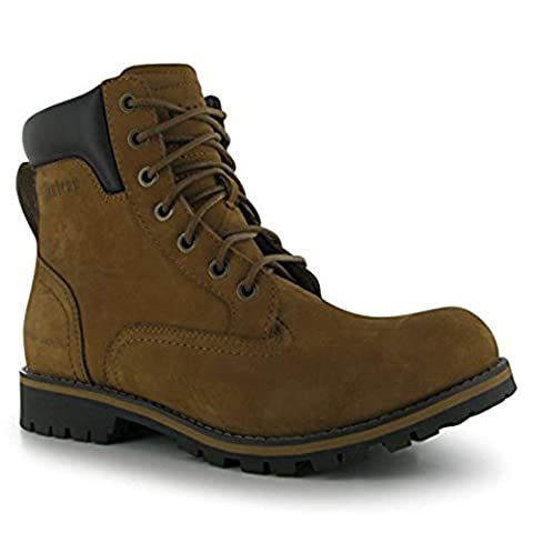 Firetrap Mens Total Bt Boots Lace Up Shoes Casual Footwear Brand New Crazy Horse 12