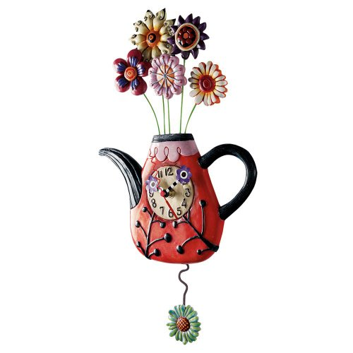allen-designs-flower-tea-ful-clock